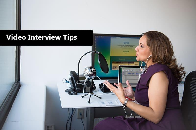 video interview preparation process
